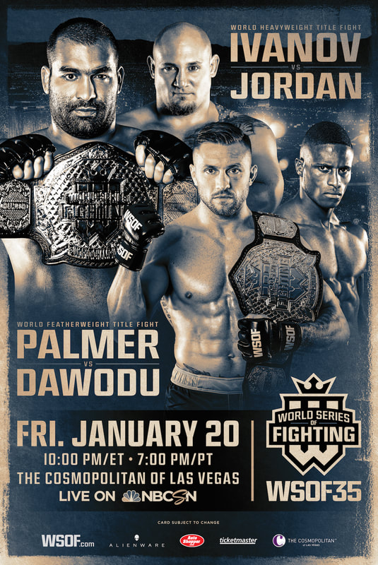 promo grapic design mma fighting poster flyer
